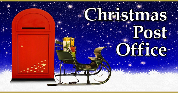 christmas card delivery by church youth - Post Office Open On Christmas Eve
