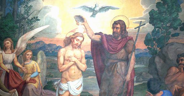 Celebrate The Baptism Of Jesus By John Baptist